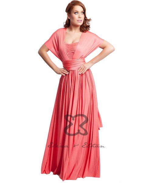 Eliza & Ethan Coral Multiwrap Dress Alila