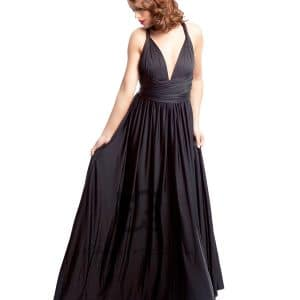 Eliza and Ethan Onyx Black Multiway Dress Alila