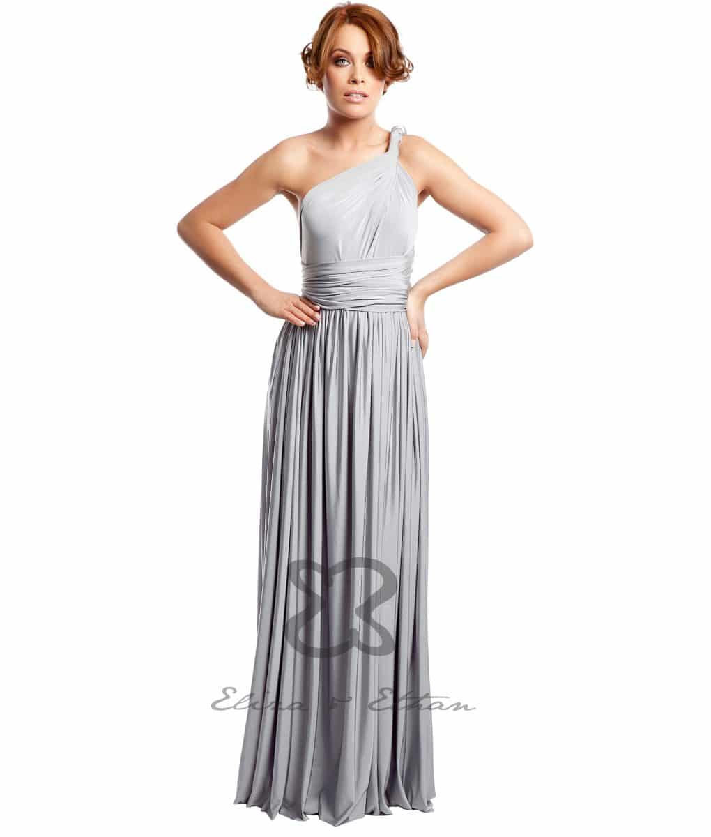 Eliza & Ethan Platinum Multiwrap Dress Alila