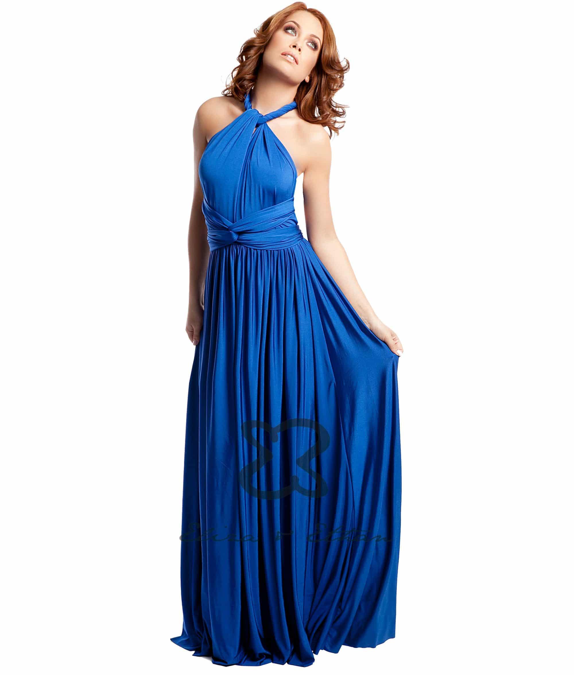 Eliza & Ethan Sapphire Multiwrap Dress Alila