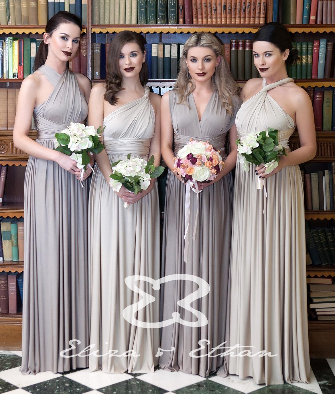 Eliza ethan multi wrap dress gallery bridesmaids gallery ombrellifo Choice Image