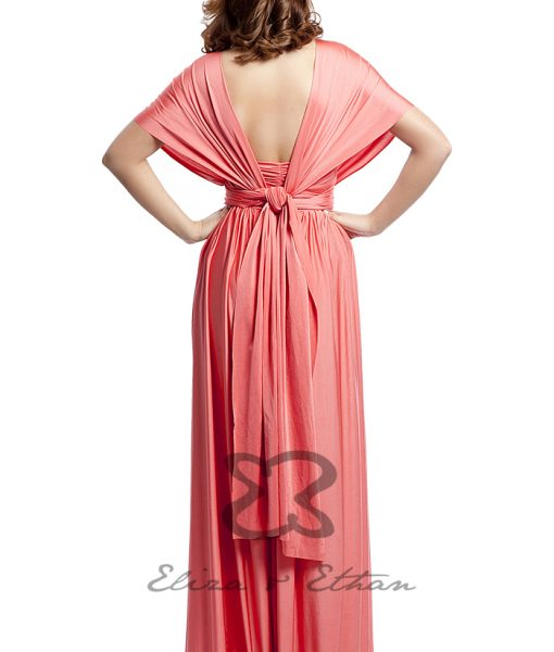 Eliza & Ethan Coral Multiwrap Dress Alila