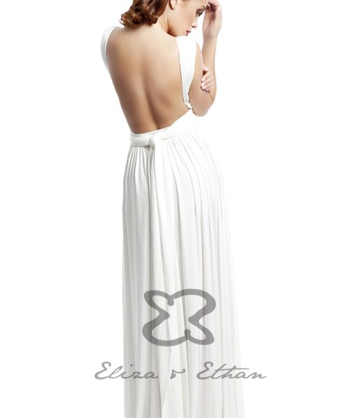 Eliza & Ethan Ivory Multiwrap Dress Alila