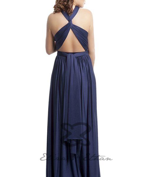 Eliza & Ethan Midnight Multiwrap Dress Alila
