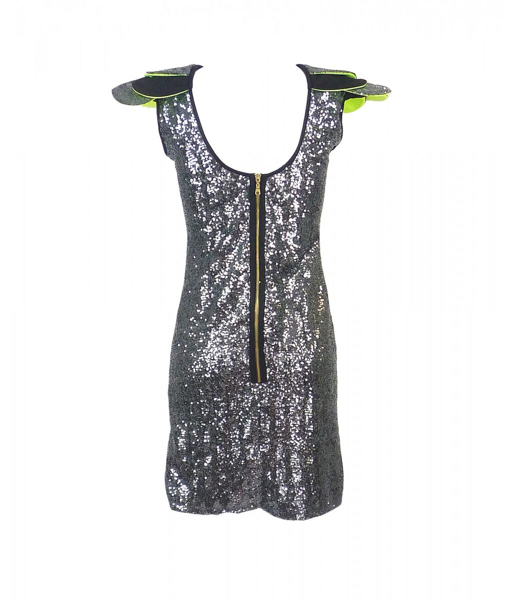 2wins-grey-sequin-layered-shoulder-dress (1)