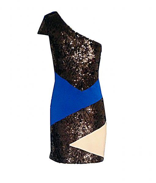 Jay G Col block cutout back blue
