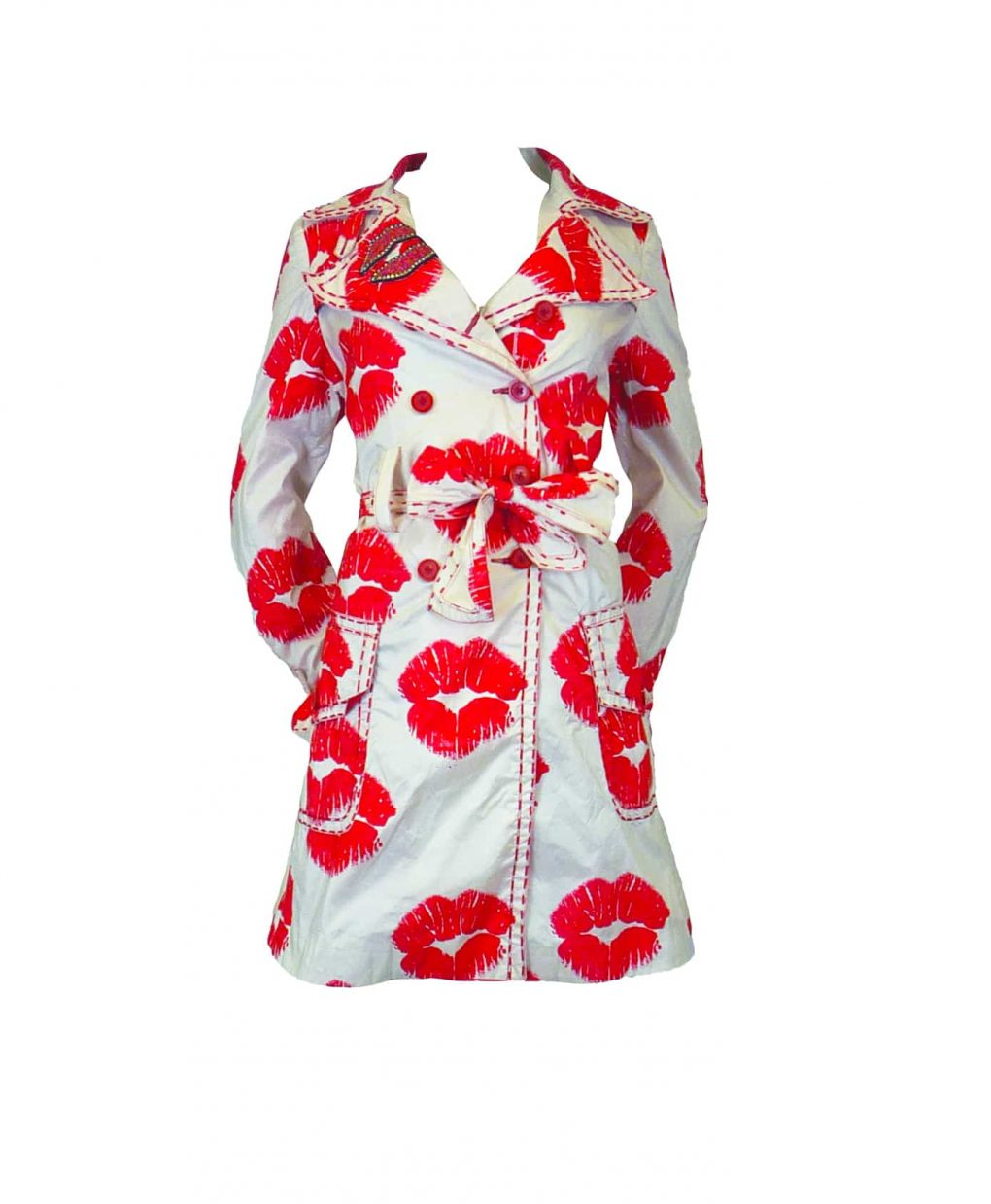 OTT Kiss Kiss Coat White