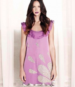 Eliza Amp Ethan Coral Multi Wrap Dress Alila
