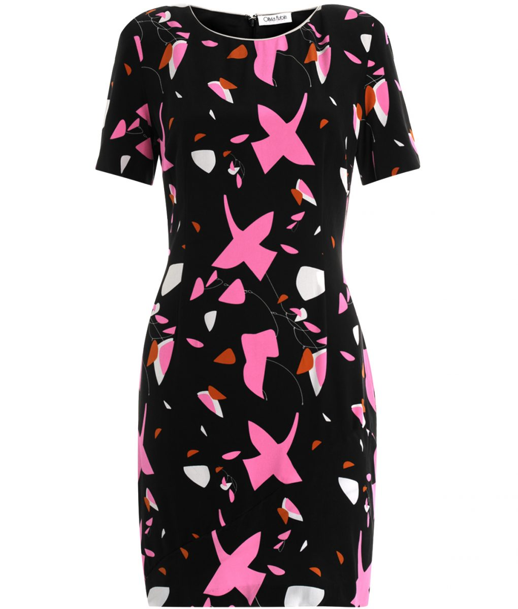 Olivia Rubin Elsa Print Dress