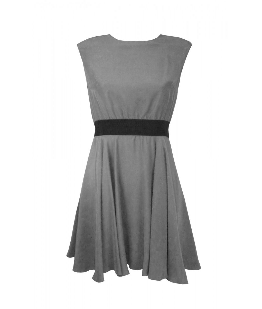 paper-crown-emma-grey-skater-dress (1)