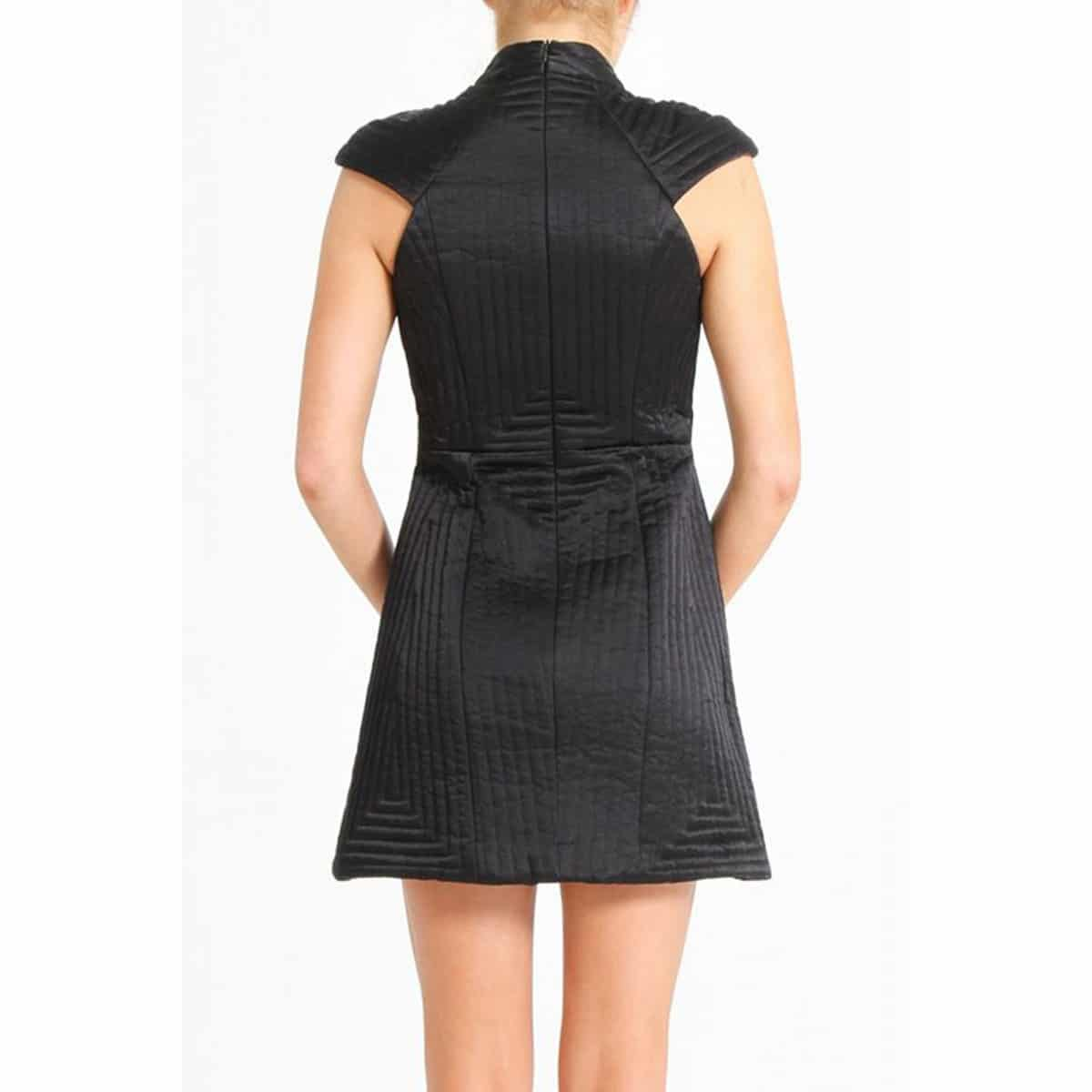 716ea5efcccd ... shakuhachi-black-quilted-structured-dress