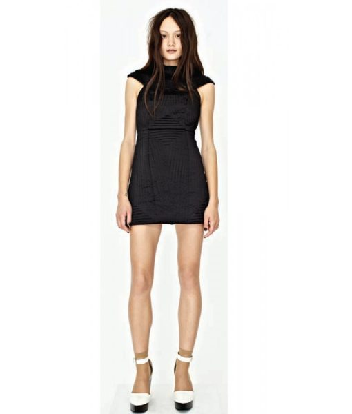 shakuhachi-black-quilted-structured-dress