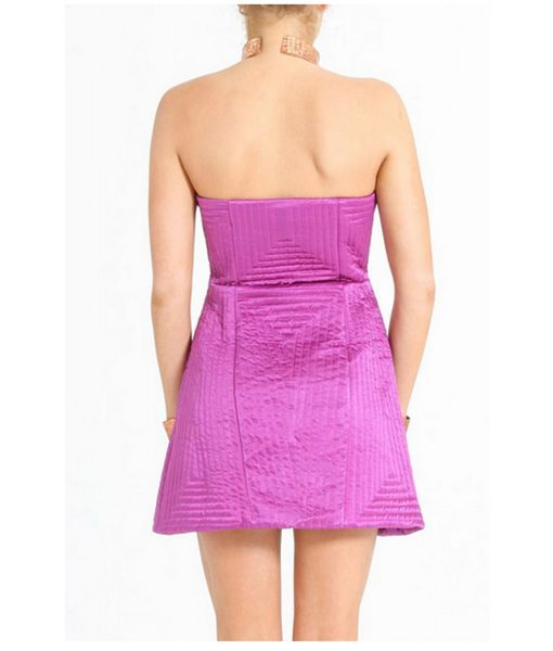 shakuhachi-purple-quilted-strapless-dress