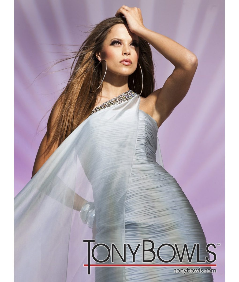 tony-bowls-silvery-grey-chiffon-drape-dress (1)