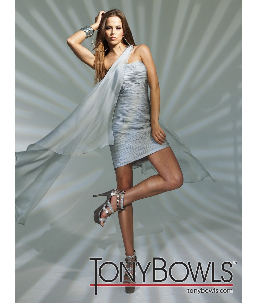 tony-bowls-silvery-grey-chiffon-drape-dress (3)