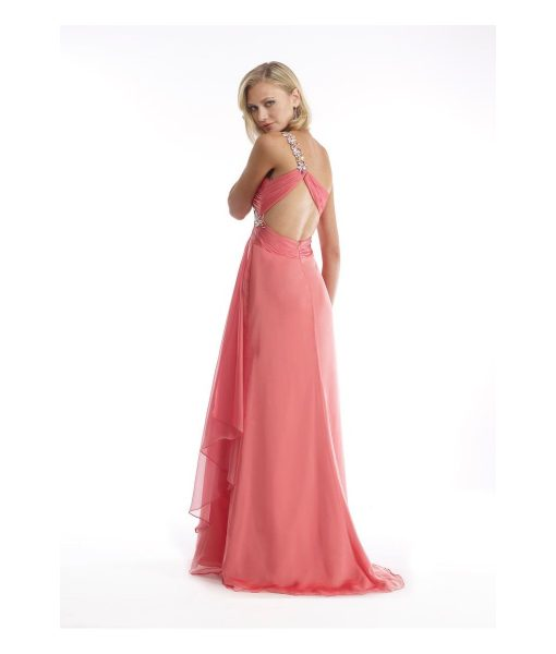 morrell-maxie-peach-iridescent-chiffon-one-shoulder-dress (1)