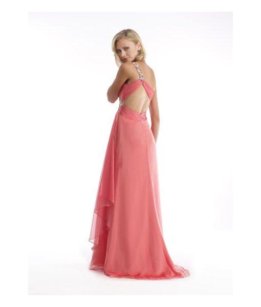 morrell-maxie-peach-iridescent-chiffon-one-shoulder-dress (1)