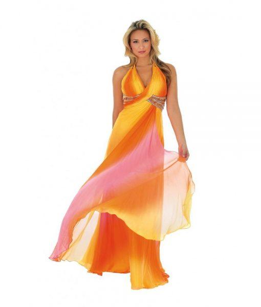 morrell-maxie-yellow-orange-ombre-silk-chiffon-halterneck