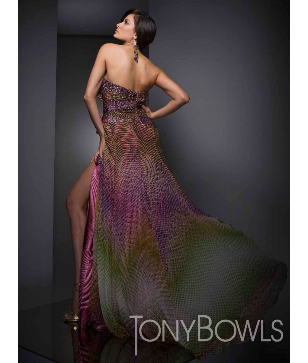 tony-bowls-dotty-print-gown (1)