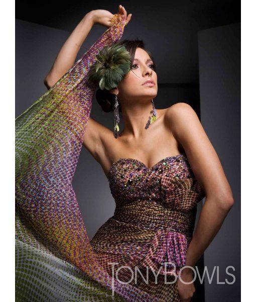 tony-bowls-dotty-print-gown (2)