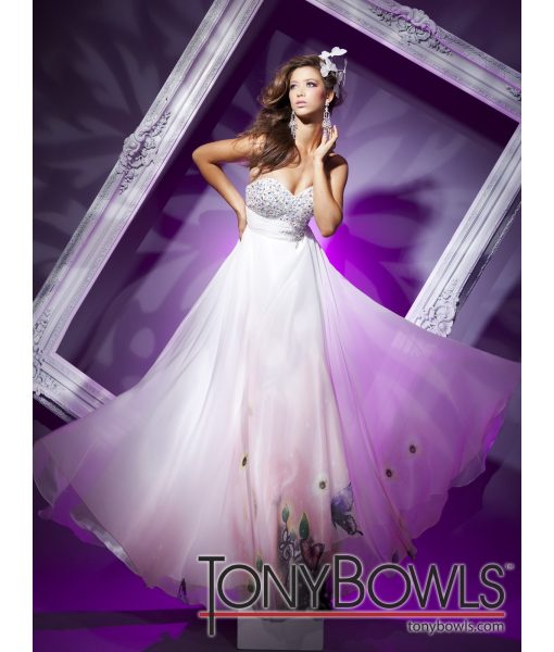 tony-bowls-strapless-white-butterfly-print-dress (1)