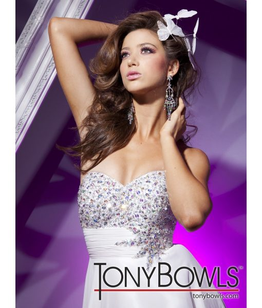 tony-bowls-strapless-white-butterfly-print-dress (2)