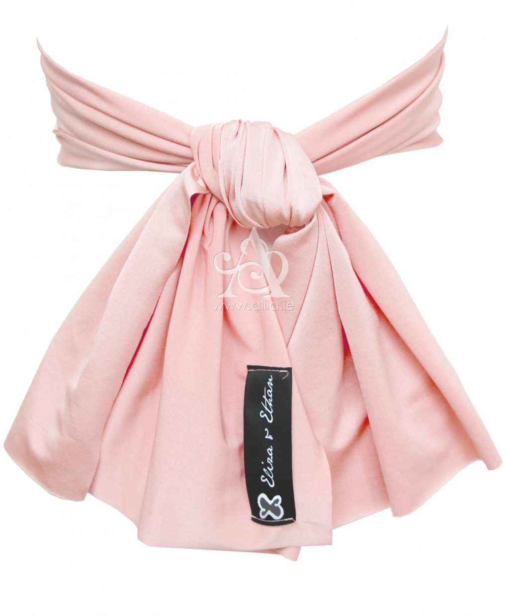 Eliza & Ethan Dusty Rose Flower Girl Sash Alila