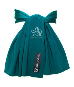 Jade Flower Girl Sash Back A
