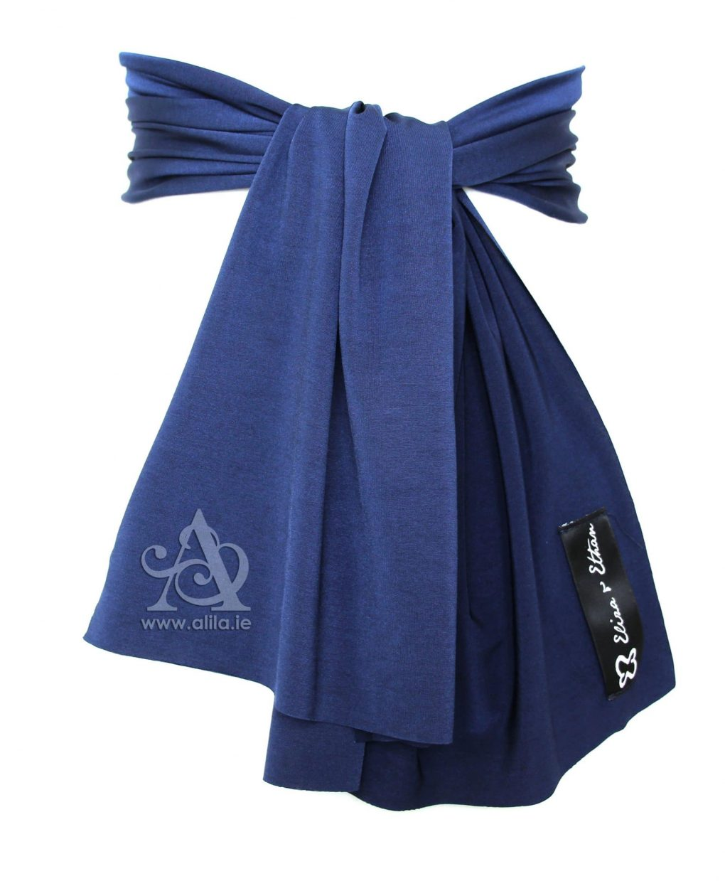 Eliza & Ethan Midnight Flower Girl Sash Alila