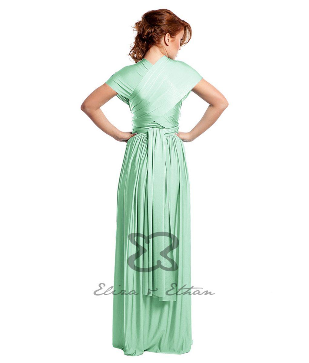 Eliza & Ethan Mint Multiway Dress Alila