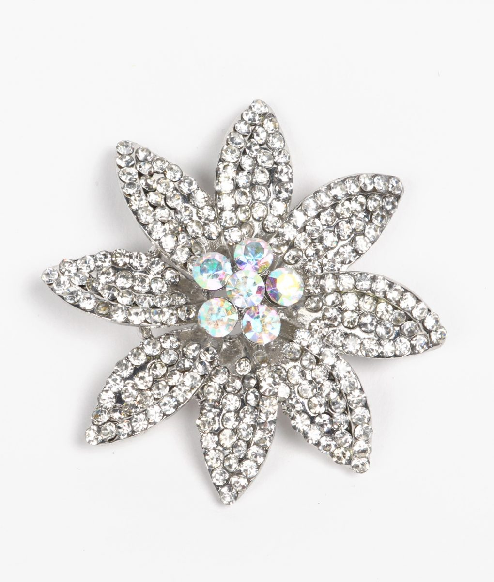 AB Flower Brooch 2963