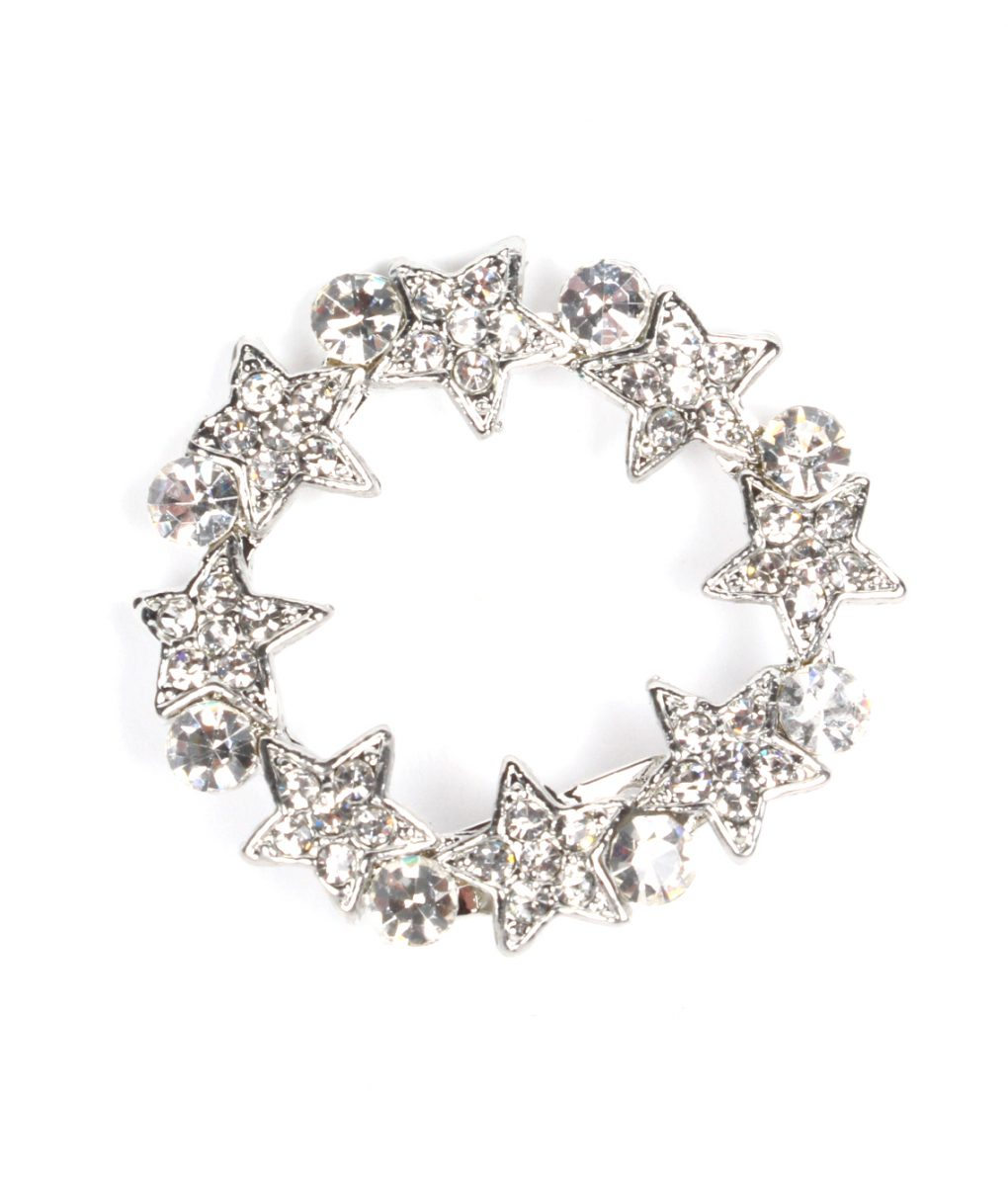 Star circle brooch 1172