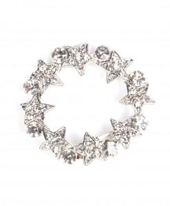 Star circle brooch 1172