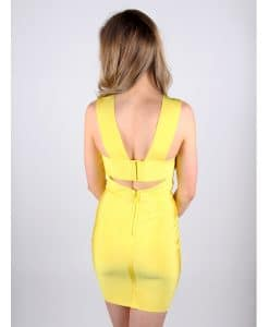 Wow Couture yellow back