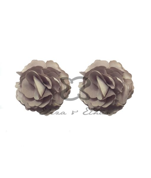 Eliza & Ethan Champagne Flower Clips Alila
