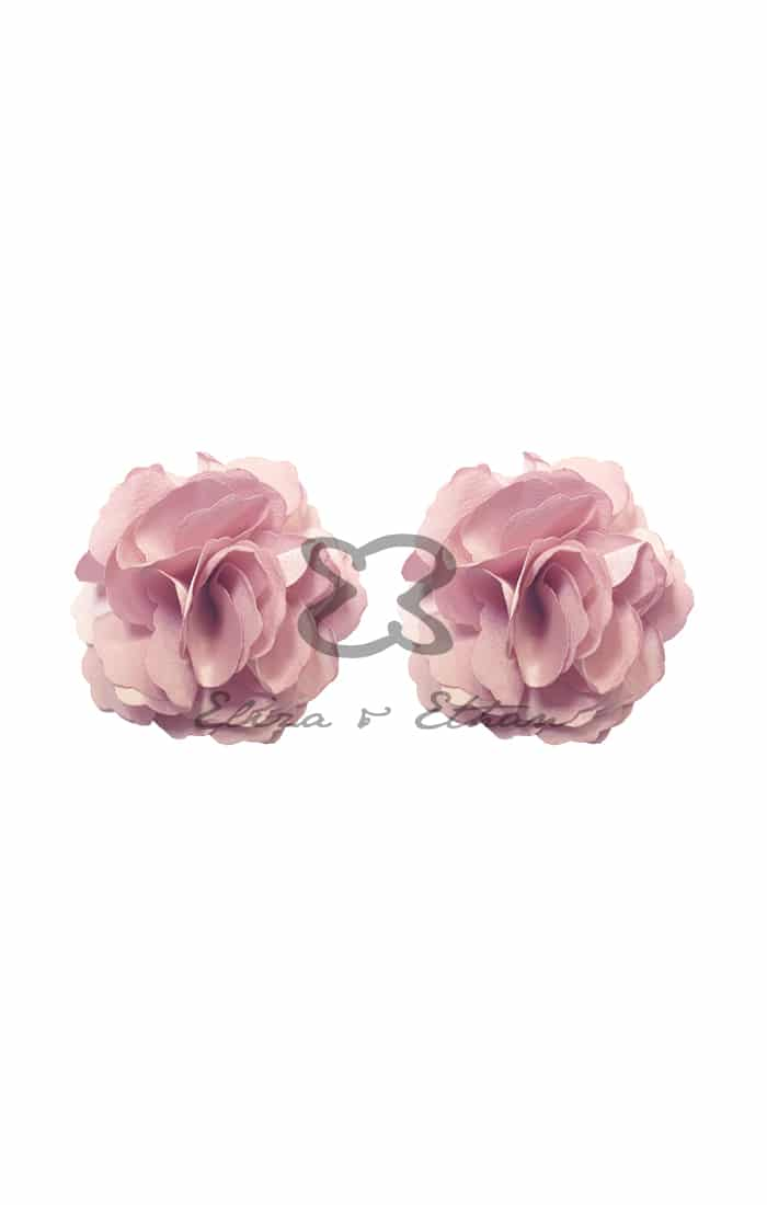 Eliza & Ethan Dusty Rose Flower Clips Alila