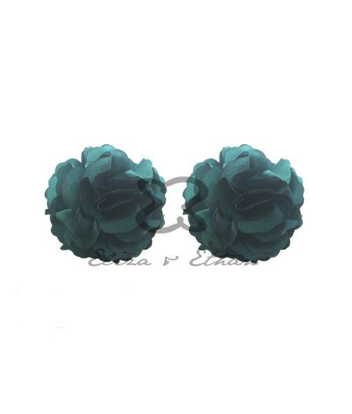 Eliza & Ethan Jade Flower Clips Alila