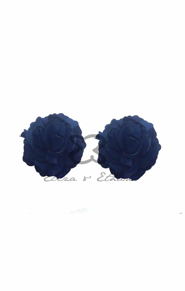 Eliza & Ethan Midnight Flower Clips Alila