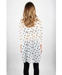 French Alila Star Shirt Dress Back