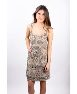 Lace and Beads Aztec front