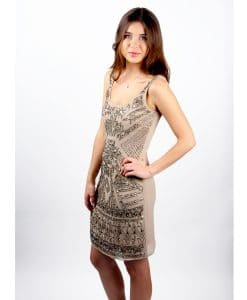 Lace and Beads Aztec side