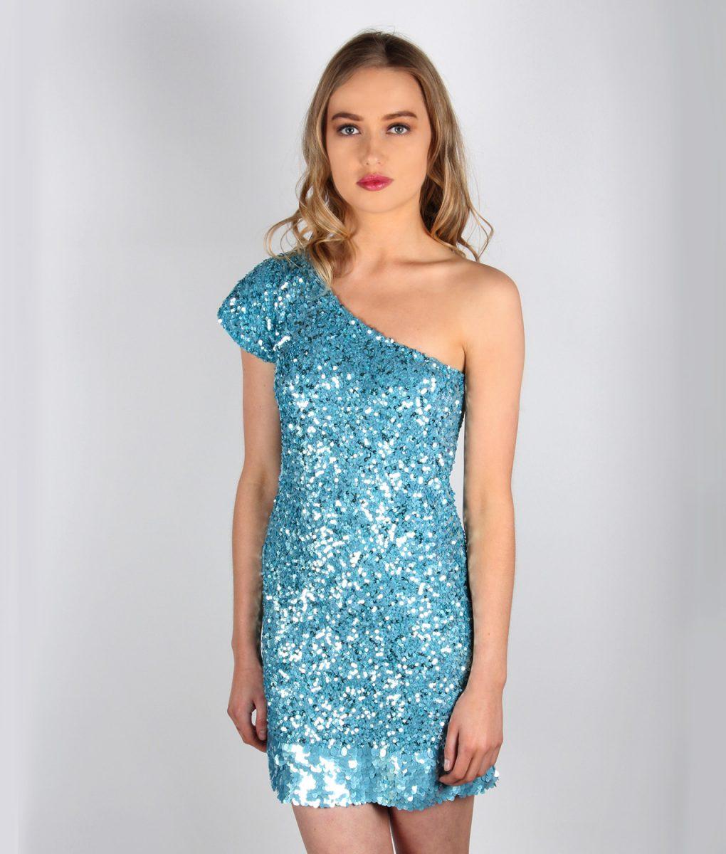 blue sparkles front