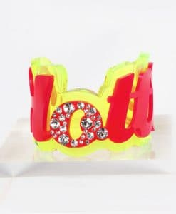 Funky Bling Hottie Bangle