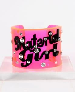Funky Bling Material Girl Bangle