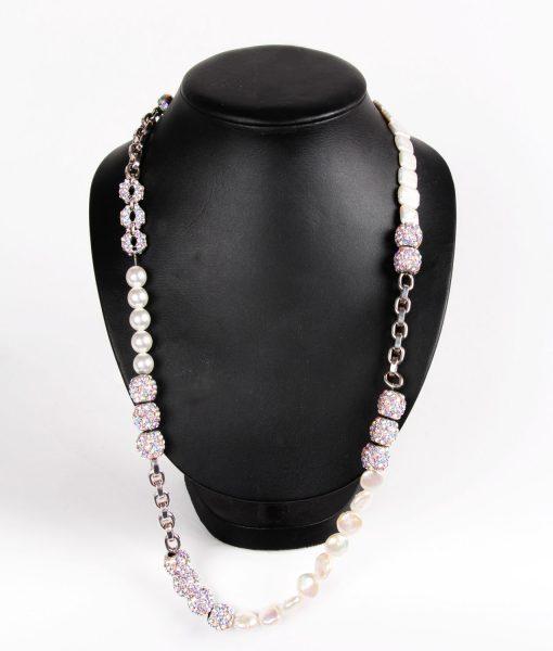 swarovski long necklace
