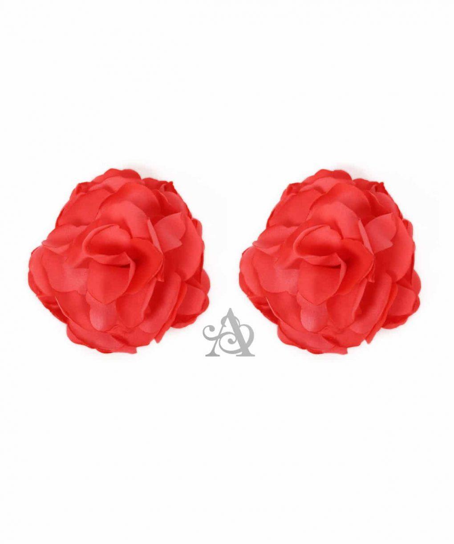 Eliza & Ethan Coral Flower Clip Alila
