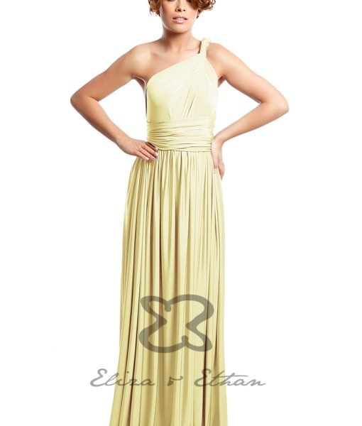 Eliza & Ethan Daffodil Multiwrap Dress Alila