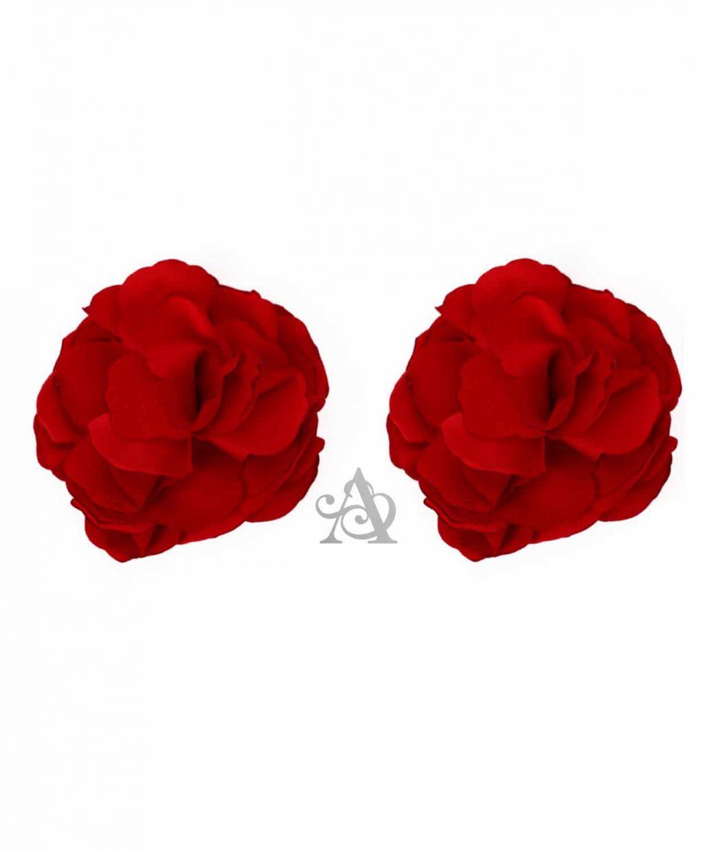 Eliza & Ethan Ruby Flower Clip Alila