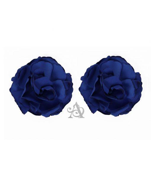 Eliza & Ethan Sapphire Flower Clip Alila