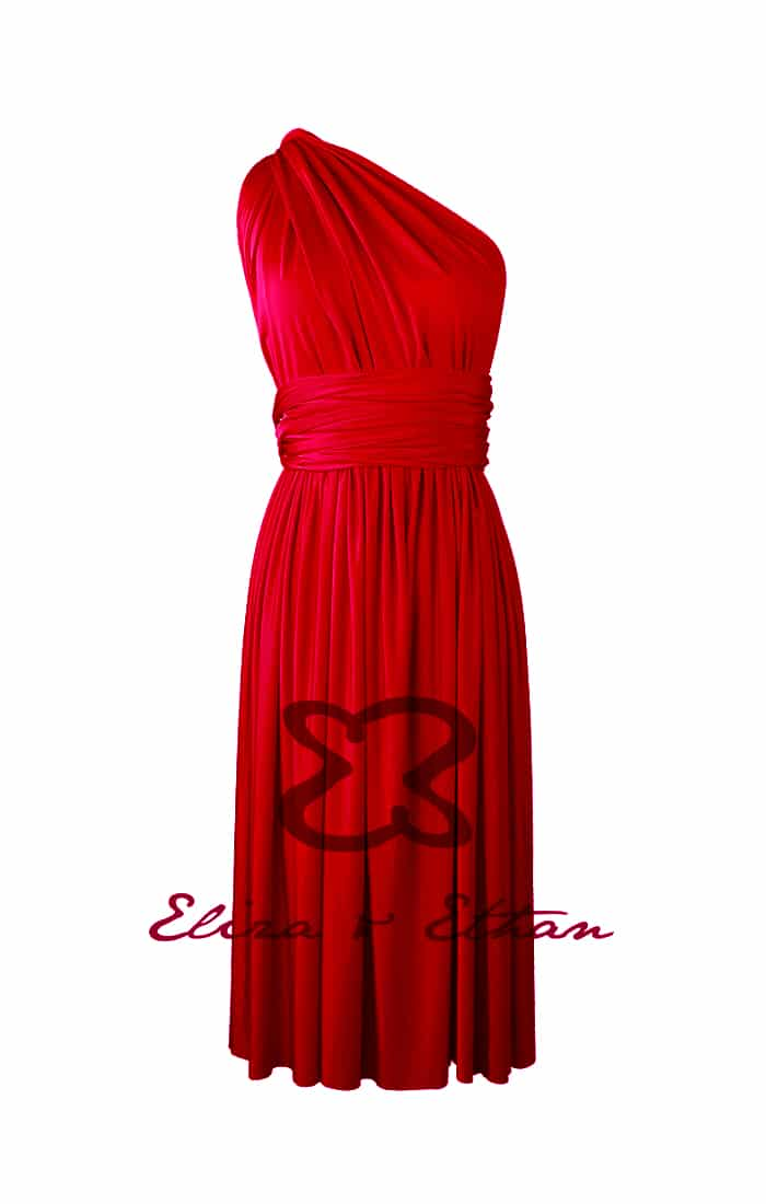 Eliza & Ethan Ruby Multiwrap Short Dress Alila